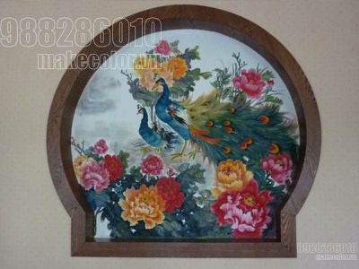 Vẽ tranh tường nhà hàng Lục Thủy - Hồ Gươm