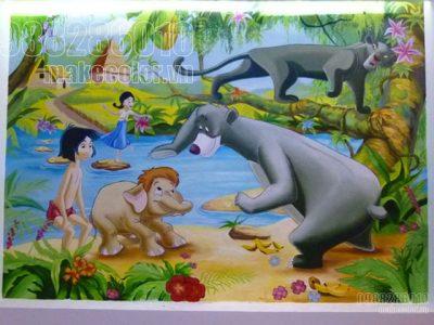 Vẽ tranh tường phòng bé nhà chị Hà - Nguyễn Sơn