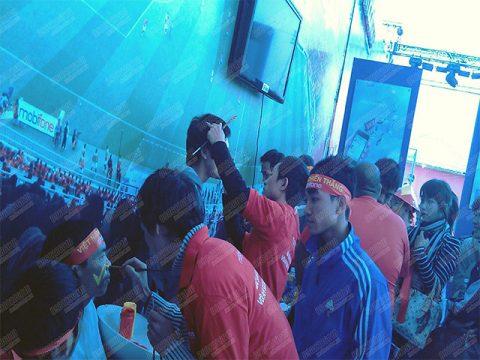 Sự kiện Mobifon Mỹ Đình 2012