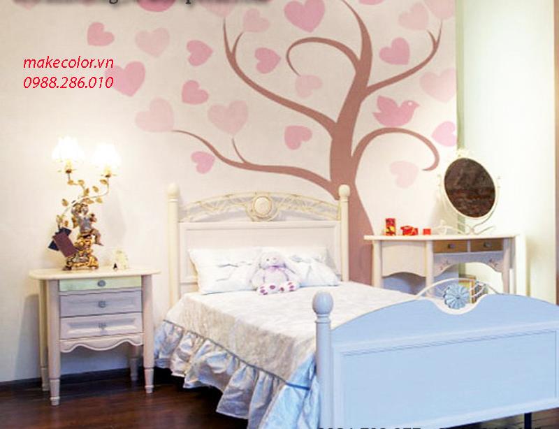 Có nên vẽ tranh tường phòng ngủ
