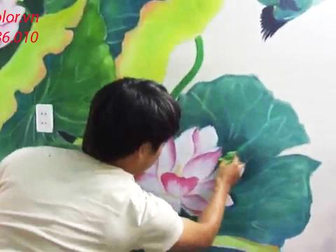 Tìm hiểu những quy tắc cần nhớ khi pha màu vẽ cho tranh tường