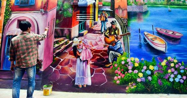 Tìm hiểu 4 vấn đề khó khăn khi vẽ tranh tường thường gặp