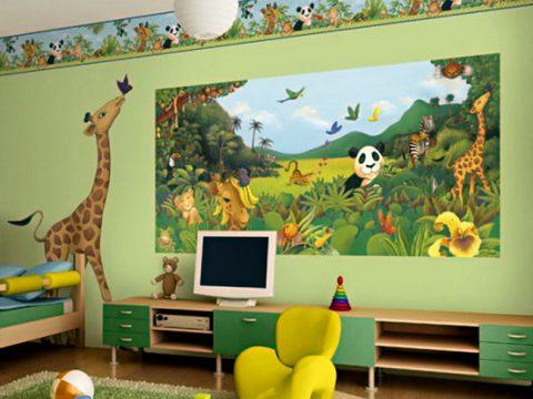Dịch vụ vẽ tranh tường cho bé từ 5-12 tuổi
