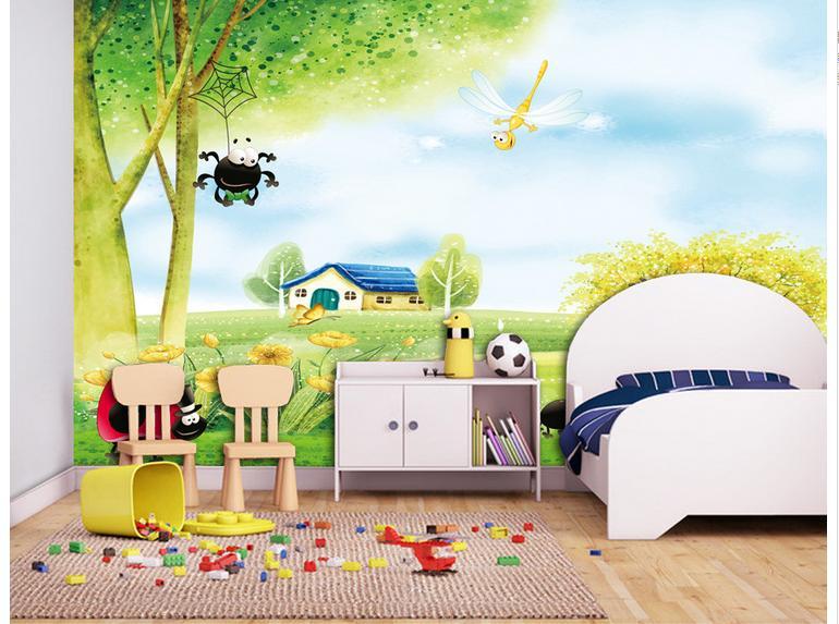 vẽ tranh tường cho phòng trẻ sơ sinh