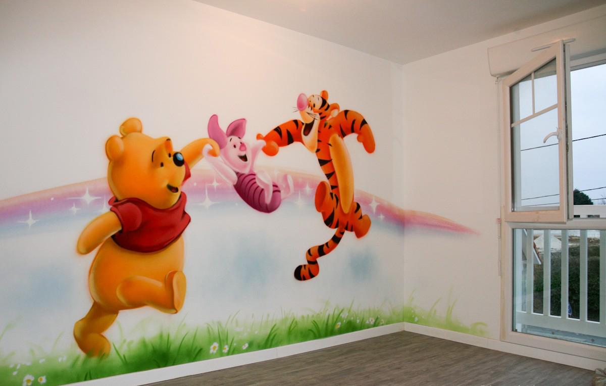 Khám phá những nét mới trong nghệ thuật vẽ tranh tường