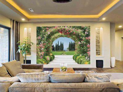 Nên lựa chọn vẽ tranh tường hay giấy dán tường cho không gian nhà ở