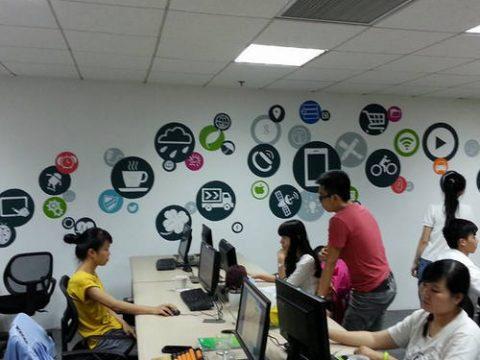 Dịch vụ vẽ tranh tường văn phòng công ty đẹp, giá rẻ, chất lượng tốt nhất tại Hà Nội