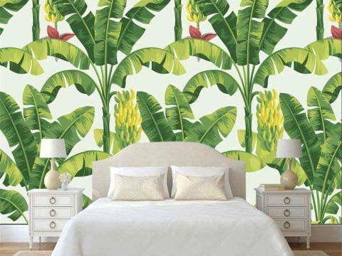 Vẽ tranh tường phòng ngủ giá rẻ nhất tại Hà Nội