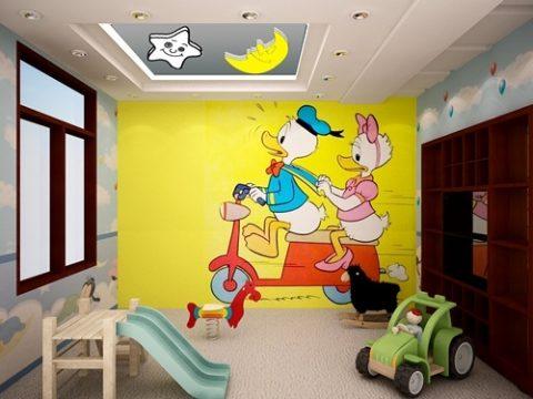 Bảng giá vẽ tranh tường phòng ngủ cho bé