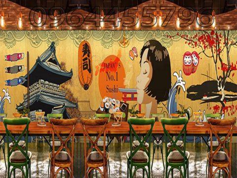 Xu hướng vẽ tranh tường quán cafe, quán trà sữa hiện nay