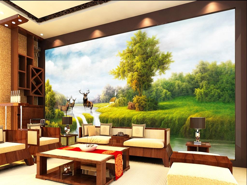 Vẽ tranh tường quận Hoàng Mai
