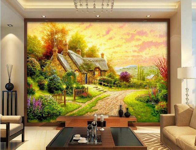 Bảng báo giá vẽ tranh tường