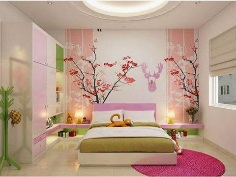Dịch vụ vẽ tranh tường phòng ngủ đẹp nhất, rẻ nhất tại Hà Nội