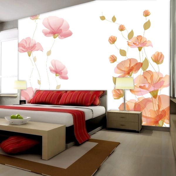 vẽ tranh tường trong nhà - phòng ngủ