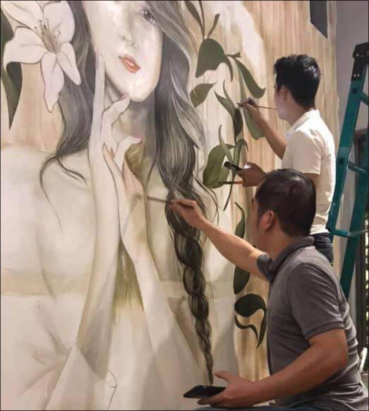 Dịch vụ vẽ tranh tường theo yêu cầu