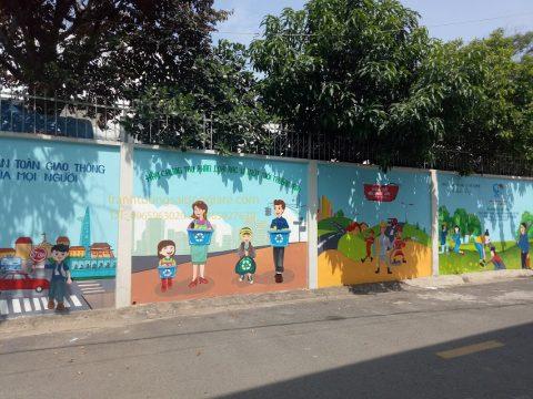 Vẽ tranh tường đường phố đẹp độc đáo, giá rẻ, chất lượng nhất tại Hà Nội