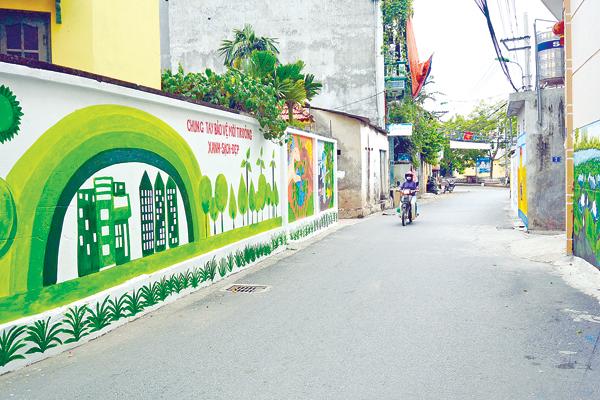 Vẽ tranh tường đường phố đẹp độc đáo